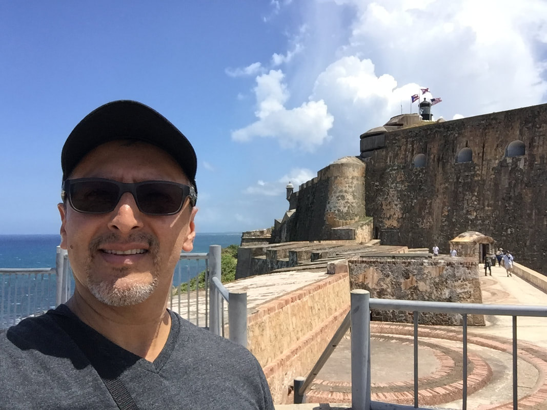 In September, Spanish teacher Nicolas Mendoza traveled to Puerto Rico to be a part of a humanitarian project.