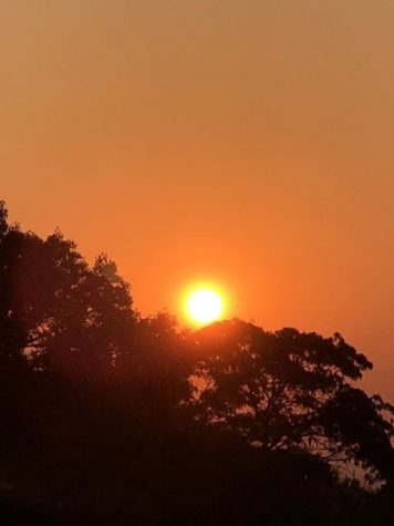 The sun shines through the smoke-filled sky in the Bay Area. It could be until next week when the smoke begins to clear out, according to the San Francisco Chronicle.