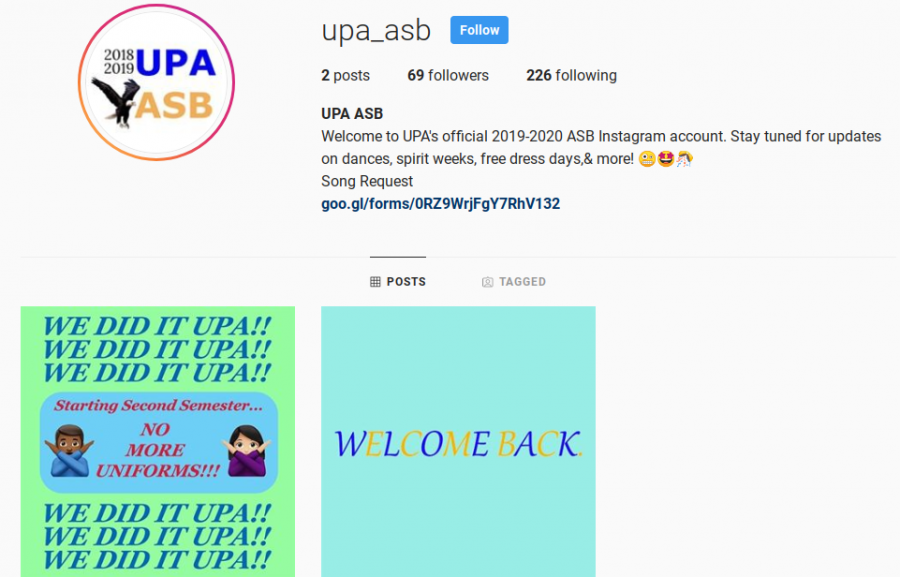 The+Instagram+page+of+the+fake+ASB+account+claims+the+official+account+was+experiencing+issues.+The+account+has+been+gaining+followers+since+it+was+first+created+on+the+night+of+Nov.+11.+