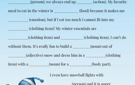 Winter Mad Lib