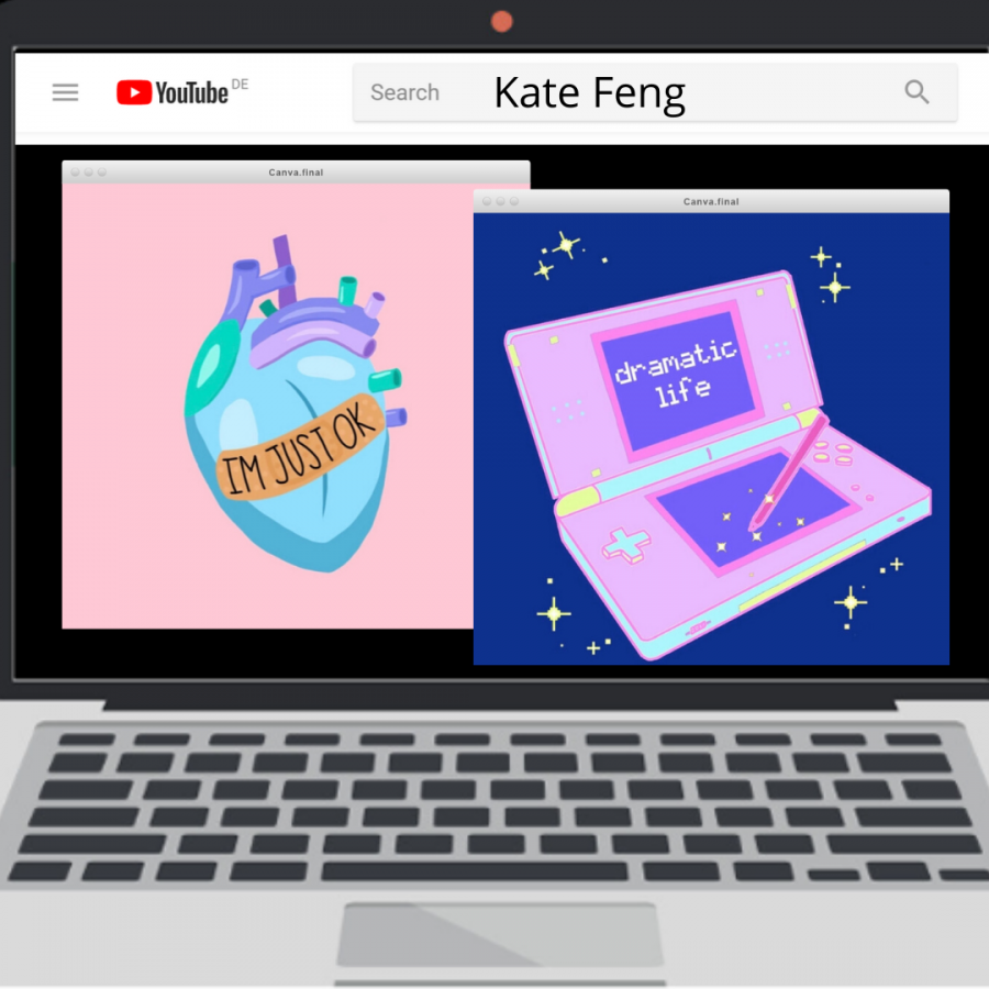 The cover art for Kate Feng's original song