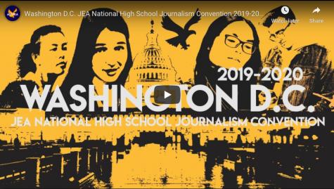Washington D.C. JEA National High School Journalism Convention 2019-2020 | Aquila Vlog